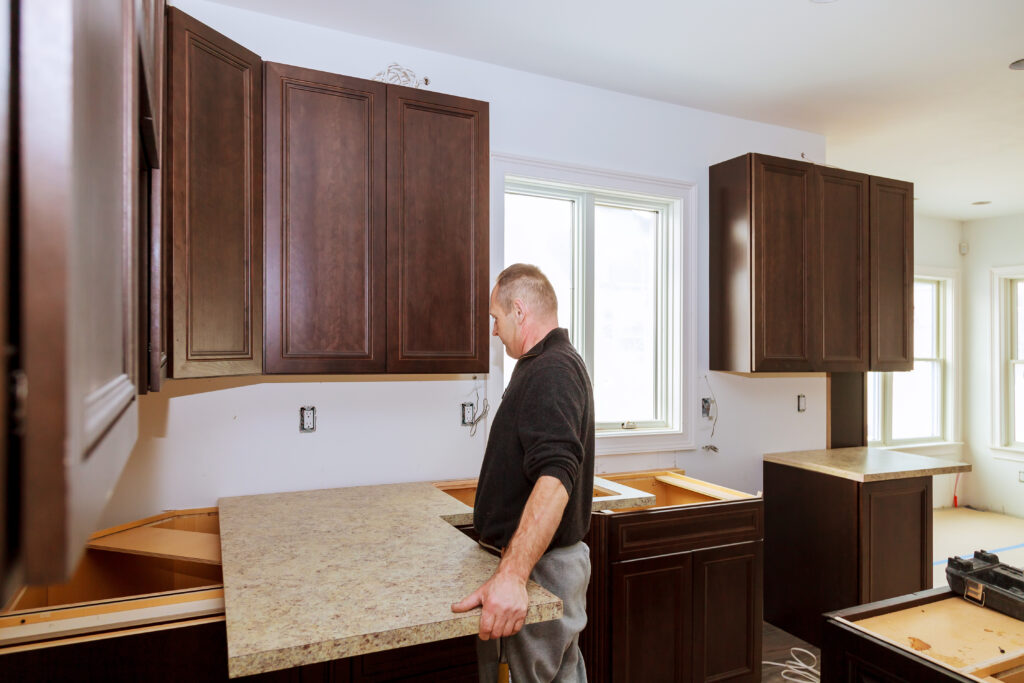contractor kitchen install new kitchen remodeling custom cabinetry